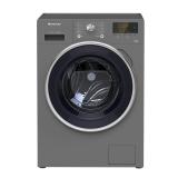格力 (GREE) 滚筒洗衣机 9公斤变频节能静柔 XQG90-B1401Ba1 银灰色