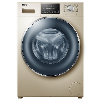海尔 Haier 大容量直驱变频电机洗烘一体变频滚筒洗衣机 XQG100-HB12936G(线下同款)