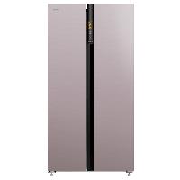 康佳(KONKA)600升 一级能效 对开门冰箱 风冷无霜 电脑温控 双开门变频家用冰箱 彩晶玻璃 BCD-600WD5EBVP