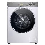 松下(Panasonic)滚筒洗衣机全自动变频10公斤大容量 光动银除菌 免熨烫 大视窗机门 XQG100-NAHEJ