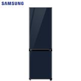 三星(SAMSUNG)333升 BESPOKE DIY自由组合冰箱 玻璃面板 风冷 智能变频 RB33R300441/SC(海军蓝)