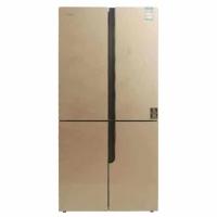 康佳(KONKA)458升风冷玻璃门十字冰箱带WIFI BCD-458WD4EBXI