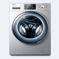 海尔 Haier 滚筒洗衣机 全自动 超薄 紫外线杀菌 WIFI 直驱变频 XQG100-HB14876LU1