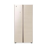 格力(GREE)晶弘456升风冷无霜变频节能对开玻璃门纤薄电冰箱 WIFI智控 离子抗菌净味 BCD-456WIPDGV/悦动金
