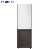 三星(SAMSUNG)333升 BESPOKE DIY自由组合冰箱 金属面板 风冷 智能变频 RB33R300426/SC(皎月白+星云灰)