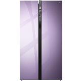 TCL 521升 一体双变频风冷无霜对开门电冰箱 AAT养鲜 电脑控温 节能静音(罗兰紫)521T6-S