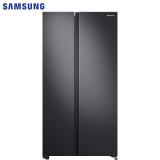 三星(SAMSUNG)655升双开门冰箱 大容量对开门电冰箱 全环绕气流 风冷无霜变频RS62R5007B4/SC 黑