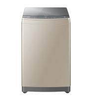 海尔 Haier 10公斤直驱变频 智能WIFI波轮洗衣机 免清洗 双动力 紫外线杀菌 金沙银 MS100-BZ886U1