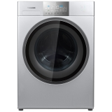 松下(Panasonic) XQG100-EG156 新品10KG 变频洗烘一体机 光动银 高效除菌 除螨健康洗 银色 京东专供