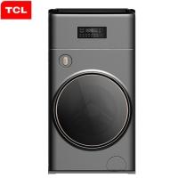 TCL 11公斤 全自动复式滚筒洗衣机 1+10公斤双筒分类洗 变频节能(星耀灰)G110P8-BY