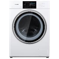 松下(Panasonic)滚筒洗衣机全自动10公斤  洗烘一体机  95度除菌洗 双极除螨XQG100-NGA5D