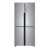 海尔 (Haier )477升双变频风冷无霜十字门冰箱 干湿分储 T·ABT除菌多门纤薄机身厨装一体BCD-477WDPCU1