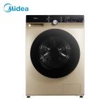 美的 (Midea)滚筒洗衣机全自动 10公斤变频 东芝DD直驱 除菌蒸汽洗 真丝柔洗 95度筒自洁 MG100KQ5