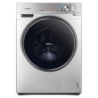 松下 Panasonic XQG100-EG13X 全自动10公斤 滚筒洗烘一体 纳米水离子除味护衣 双极除螨(线下同款)