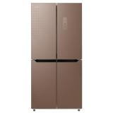 康佳(KONKA)375升十字对开门冰箱风冷无霜4.0BCD-375WD4EBZP 金色