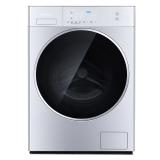 松下(Panasonic)滚筒洗衣机全自动10kg 全新光动银高温双重除菌XQG100-LD256