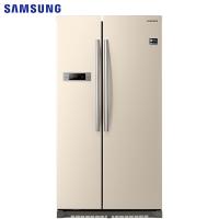 三星(SAMSUNG)545升大容量风冷无霜对开门冰箱 智能变频 节能静音  速冻RS542NCAESK/SC(金)