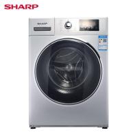 夏普(SHARP)10公斤 洗衣机 变频大容量  高转速  单烘干  无缝内筒 XQG100-2758W-H