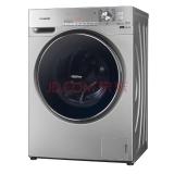 松下(Panasonic)XQG100-E1558 10公斤变频滚筒洗衣机 银除菌 高温 罗密欧系列(线下同款)