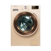 格力 (GREE) 滚筒洗衣机 8公斤变频节能静柔 XQG80-DWB1401Ab1 奢华金