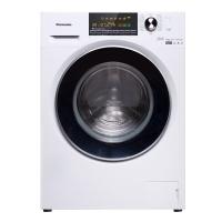 松下(Panasonic)10公斤变频滚筒洗衣机洗烘一体 冷凝式烘干 除螨除菌95°C高温洗XQG100-EG130白色