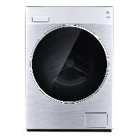 松下(Panasonic)滚筒洗衣机全自动10公斤 洗烘一体机 95度除菌洗 大视窗机门 免熨烫XQG100-LD165