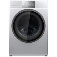 松下(Panasonic)XQG100-E156 新品10公斤 变频滚筒洗衣机光动银高效除菌健康洗涤银色