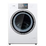 松下(Panasonic)滚筒洗衣机全自动10公斤 洗烘一体机 暖风无水除菌 除味护衣XQG100-NGA6F