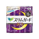 花王乐而雅(laurier)零触感特薄夜用进口卫生巾30cm15片(日本原装进口)(新老包装随机)