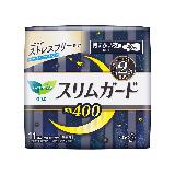 花王乐而雅(laurier)零触感特薄超特长夜用卫生巾40cm11片(日本原装进口)