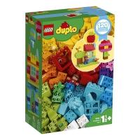 乐高(LEGO)积木 得宝DUPLO我的自由创意趣玩箱1.5岁+ 10887生日新年礼物 儿童玩具 男孩女孩 大颗粒
