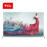 TCL 65Q10 65英寸 QLED原色量子点电视 安桥音响 AI声控智慧屏 超薄全面屏 MEMC防抖 3+32GB 平板电视