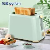 东菱(Donlim)面包机多士炉不锈钢内胆烤面包机2片烤吐司机多功能三明治早餐机 TA-8600